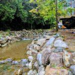 島田の童子沢(わっぱざわ)親水公園は無料でキャンプや川遊びができる